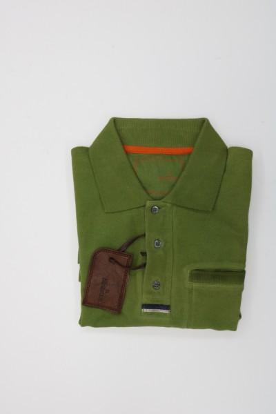 Handstich - Polohemd 1/2